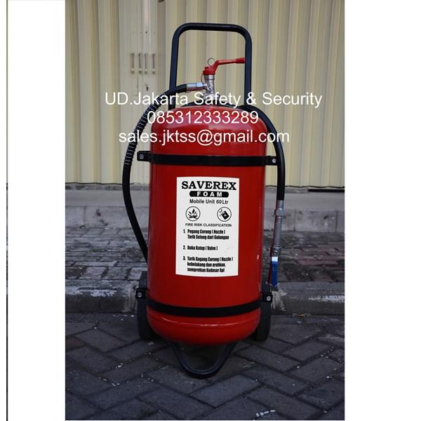 alat alat pemadam kebakaran api besar racun api saverex foam afff 60 liter trolly china harga murah
