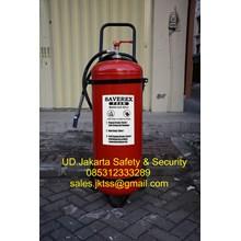 alat pemadam kebakaran api besar APAB media foam afff saverex 80 liter trolley china berkualitas