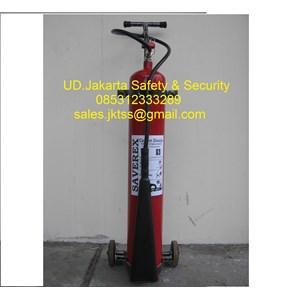 fire exthinguisher pemadam api beroda media gas CO2 10 kg trolley harga murah