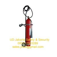 alat pemadam kebakaran api besar media gas co2 saverex 45 kg trolley harga murah 1