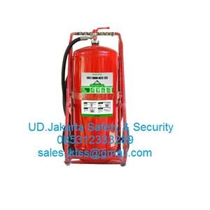 fire exthinguisher pemadam api besar clean agent gas HCFCmerdeka 50 kg trolley harga murah