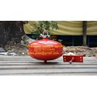 fire exthinguisher APAR thermatic mini 3 kg clean agent media gas HCFC-123 1