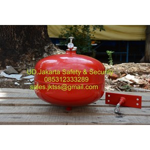 Fire exthinguisher pemadam api otomatis thermatic min 6 kg media gas HCFC-123