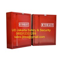 box hydrant indoor type A1 CS 1 with glass lokal complete set harga murah 1