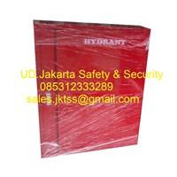 hydrant box indoor merdeka type A2 CS 1 import with glass complete set harga murah 1
