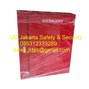 hydrant box indoor merdeka type A2 CS 1 import with glass complete set harga murah