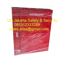 Hydrant box indoor type A2 CS 1 tanpa kaca import merdeka complete set 1
