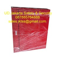 Hydrant box indoor type A2 CS 2 import with glass complete set harga murah 1