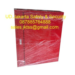 Hydrant box indoor type A2 CS 2 import with glass complete set harga murah