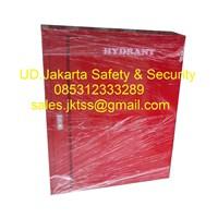 Hydrant box indoor type  A2 CS 2 lokal with glass complete set merdeka harga murah 1