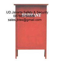 Hydrant box outdoor type C CS 2 import tanpa kaca complete set harga murah 1