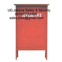Hydrant box outdoor merdeka type C CS 2 LOKAL tanpa kaca complete set harga murah 1