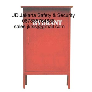 Hydrant box outdoor merdeka type C CS 2 LOKAL tanpa kaca complete set harga murah