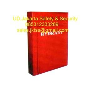 Hydrant box indoor type B CS 1 import with glass complete set harga murah