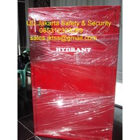 Jual hydrant box b indoor merdeka with glass +slotfire alarm murah jakarta 2