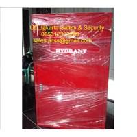 hydrant box b indoor merdeka with glass +slotfire alarm murah jakarta 1