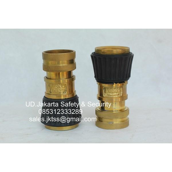 variable nozzle nozzle selang pemadam kuningan lokal 2-5 inch murah