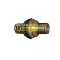 alat alat penyambung selang pemadam coupling machino kuningan 1-5 inch ex.taiwan