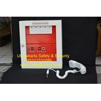 announciator panel sistem conventional 5 zone bahan abs yunyang