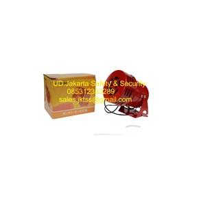 fire alarm aksesoris conventional sirine buzzer ( motor sirine ) 220 VAC harga murah jakarta