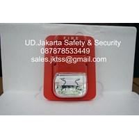aksesoris alarm kebakaran strobe & sounder buzzer light 24 VDC murah jakarta