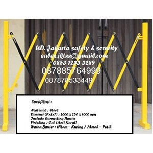 EXPANDABLE BARRIER SAFETY TRAFFIC AND GATES PAGAR PEMBATAS JALAN MURAH