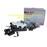 AHD KIT 4 CHANNEL DVR CCTV CAMERA SECURITY SYSTEM COMPLETE SET MURAH 1