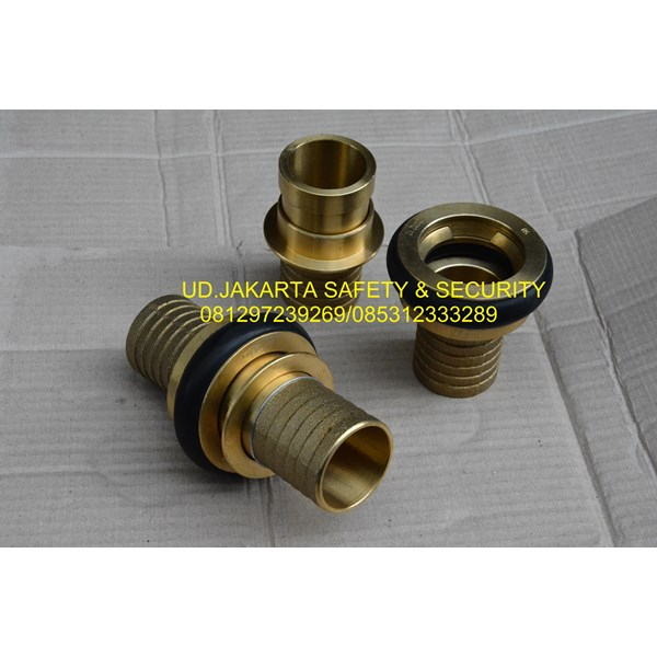 SELANG AIR HYDRANT SEMPROT SPRAYING PEMADAM KEBAKARAN TIPE CANVAS 2X30 10 BAR+COUPLING MACHINO