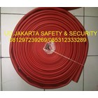 SELANG PEMADAM KEBAKARAN FIRE HOSE AIR HYDRANT RED RUBBER SYNTEX 2-5 INCH 16 BAR+KOPLING MACHINO 1