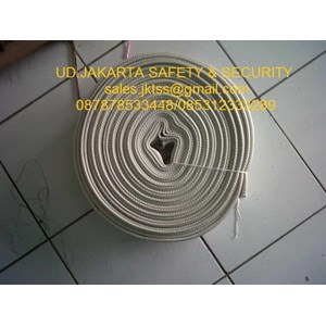 TOKO AGEN SELANG CANVAS KAIN PEMADAM KEBAKARAN API HYDRANT SPRAYING FIRE HOSE  2 X 30 13 BAR+COUPLING NAKAJIMA HARGA MURAH JAKARTA