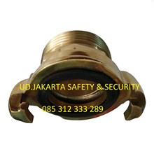 ADAPTOR HOSE COUPLINGS CONNECTION FIRE FIGHTING NHT MALE NAKAJIMA 2-5 INCH HARGA MURAH JAKARTA