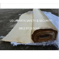 Jual FIRE HEAT WELDING BLANKET PROTECTION RETARDANT ROLLS TAHAN API CURTAIN MURAH JAKARTA 2