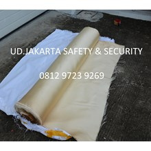 FIRE HEAT WELDING BLANKET PROTECTION RETARDANT ROLLS TAHAN API CURTAIN MURAH JAKARTA