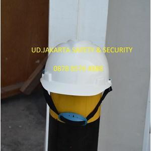 HELM APD ALAT PELINDUNG DIRI SAFETY PROYEK PUTIH HELMET HEAD PROTECTION MANAJER INSINYUR PENGAWAS MANDOR