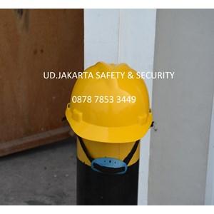 HELM SAFETY ALAT PELINDUNG DIRI PROYEK KUNING HEAD PROTECTION APD SUB KONTRAKTOR PEKERJA UMUM MURAH JAKARTA