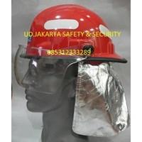 HELM PEMADAM KEBAKARAN PMK FIRE FIGHTER HELMET PLASTIC GRADE 2 MURAH