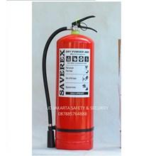 APAR TABUNG ALAT PEMADAM KEBAKARAN RACUN API RINGAN ABC DRY CHEMICAL POWDER 8 KG SAVEREX MURAH JAKARTA
