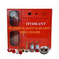 PUSAT FIRE HYDRANT BOX TYPE B MODIFIKASI WITH BOX APAR VERTICAL GLASS COMPLETE SET HARGA MURAH JAKARTA