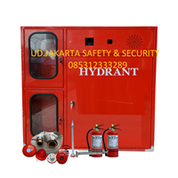 PAKET PUSAT BOX HYDRANT TYPE B MODIF WITH COMBINED BOX APAR VERTICAL FOR INDOOR COMPLETE SET HARGA MURAH