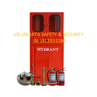 PUSAT PAKET HYDRANT BOX TYPE B FOR INDOOR COMBINED WITH BOX APAR HORIZONTAL COMPLETE SET MURAH JAKARTA