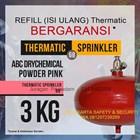 JASA ISI ULANG REFILL PENGISIAN TABUNG PEMADAM API THERMATIC DCP PINK KAPASITAS 3 KG HARGA MURAH JAKARTA 1