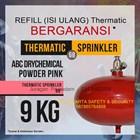 REFILL ISI ULANG JASA PENGISIAN TABUNG THERMATIC PEMADAM KEBAKARAN API DCP PINK 9 KG HARGA MURAH JAKARTA 1