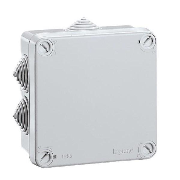 Saklar Plexo Junction Box Weatherproof Standard Dengan Membran Glands 65mm