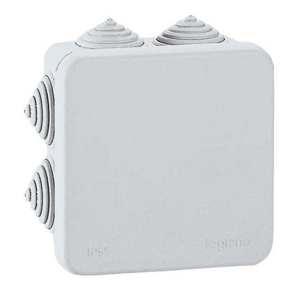 Saklar Plexo Junction Box Weatherproof Kelas II dengan Membran Glands 80mm