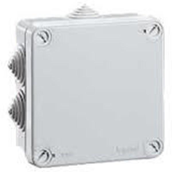 Saklar Plexo Junction Box Weatherproof Kelas II dengan Membran Glands 105mm