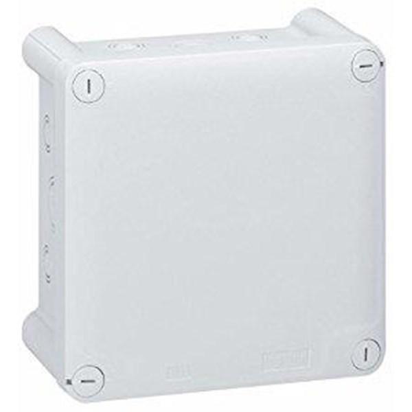 Saklar Plexo Junction Box Weatherproof Kotak dengan Pre cut Knock Out ISO