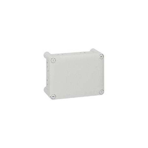 Saklar Plexo Junction Box Weatherproof Persegi Panjang 180 x 140 x 86 mm