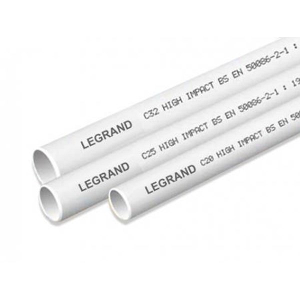 Pipa Conduit PVC - LINK Rigid Conduit 25mm 656502 Legrand