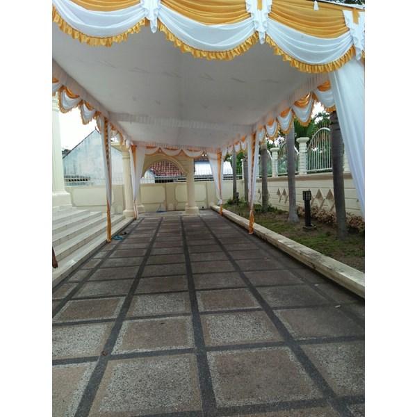 Plafon dekor tenda