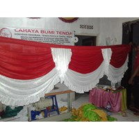 Rumbai Tenda pesta Merah Putih